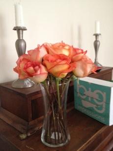 Trial arrangement in round vase