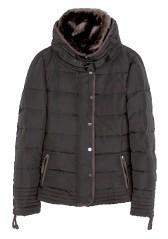 black coat brown leather trim (2)